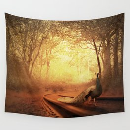 Beauty Of the Beast Wall Tapestry