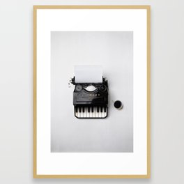 On a musical note Framed Art Print