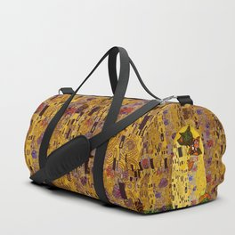 Kiss Klimt Cats Duffle Bag