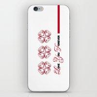 imagine iPhone & iPod Skins featuring Imagine by Mari Biro