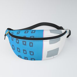 Minimal Buildings - New York Style Fanny Pack