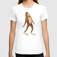 sasquatch T-shirts featuring Sasquatch by Stephanie Marie Steinhauer