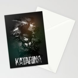 League of Legends Katarina Stationery Cards
