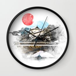Japan, Tokyo - Imperial Palace Wall Clock