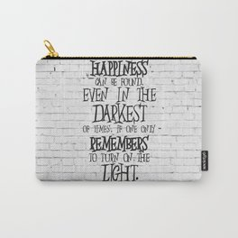 Albus Dumbledore Quote Inspirational Carry-All Pouch