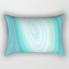 Teal Dreams Collection (5) - Fractal Art Rectangular Pillow