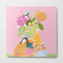 Colourful Garden Metal Print