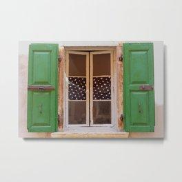 Windows of Croatia  Metal Print