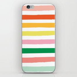 stripey stripes  iPhone Skin