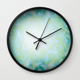 Abstract ocean reflection texture Wall Clock