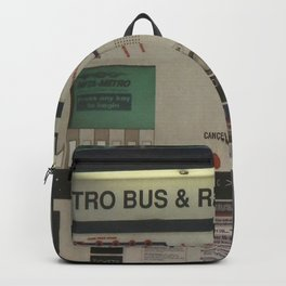 Bus Stop Backpack