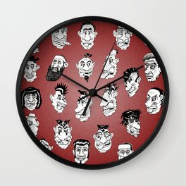 Shafted! Character sheet Wall Clock