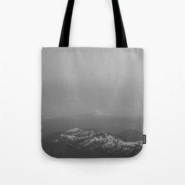 Adams from Rainier Tote Bag