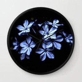 Under The Blue Moon Wall Clock