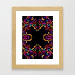 dark mexican Framed Art Print