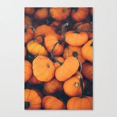 Obligatory Pumpkin Selfie  Canvas Print