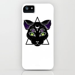 Thanks for joining me in the dark. iPhone Case