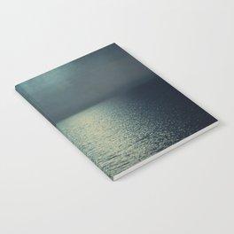 sea - emerald sunset Notebook