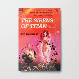 Vonnegut -  The Sirens of Titan Metal Print