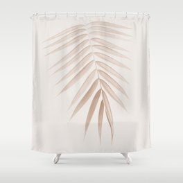 Palm Leaf Finesse #1 #minimal #tropical #decor #art #society6 Shower Curtain