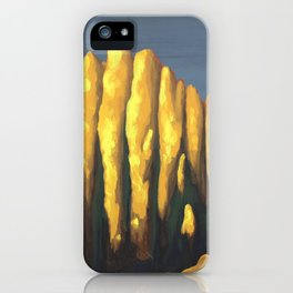 Late Autumn Sunset iPhone Case