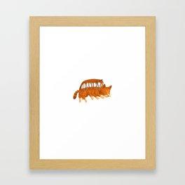 Cat Bus IRL Framed Art Print