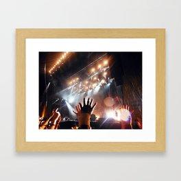 Music Scene - Leeds Festival 2013 - Biffy Clyro Framed Art Print