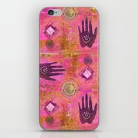 hands iPhone & iPod Skins featuring Hands by LebensART