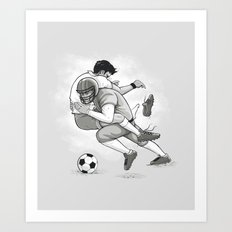 This is Football! Art Print