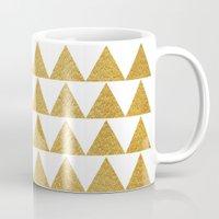golden Mugs featuring Golden by Sandra Arduini