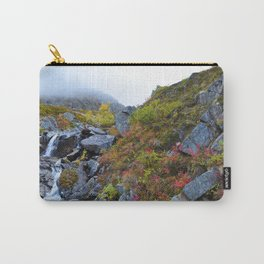 Independence_Mine Waterfall - Alaska Carry-All Pouch