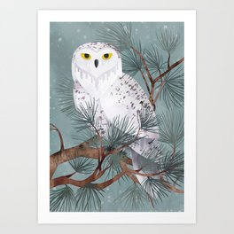 Snowy Kunstdrucke