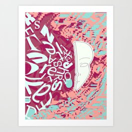 overwhelm III Art Print
