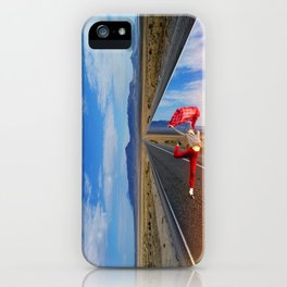 The theater of life iPhone Case