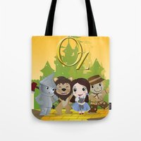 oz Tote Bags featuring Oz by 7pk2 online