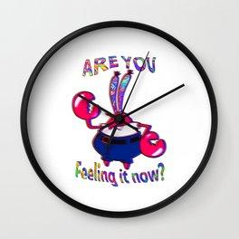 Are you feeling it now Mr Krabs Wall Clock