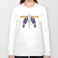 toucan Long Sleeve T-shirts featuring toucan by Manoou