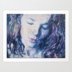 Woman Inside Art Print