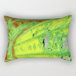 Green Crusties Rectangular Pillow