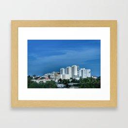 Boca Raton Beachfront Framed Art Print