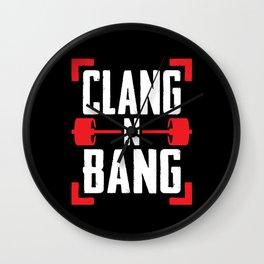 Clang N Bang Wall Clock