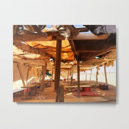 Bedouin Camp in Israel Metal Print
