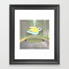 let me fly Framed Art Print