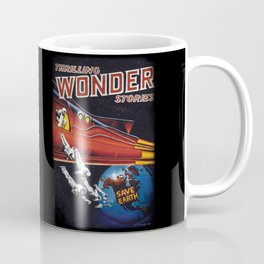 Wonder Stories - Save Earth Coffee Mug