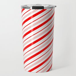 Candy Cane Stripes Travel Mug