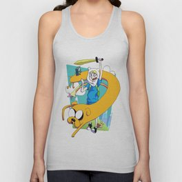 The Dog and the Human Unisex Tank Top