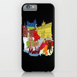 Madrid Spain iPhone Case