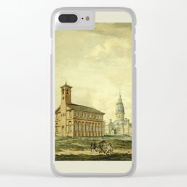 Annapolis 1800 Clear iPhone Case