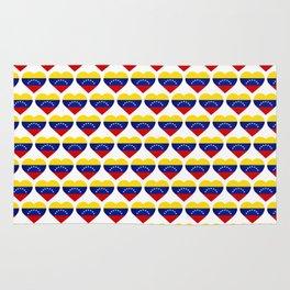 Venezuelan heart - Corazon Venezolano Rug