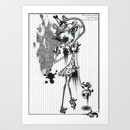 mystery of love Art Print